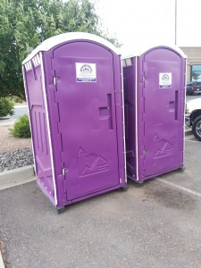 """You can't have a lavender festival without purple toilets, now can you?""  So Colorado Lavender Festival sponsor Rocky Mountain Sanitation will be placing the purple toilets around Palisade on Saturday."