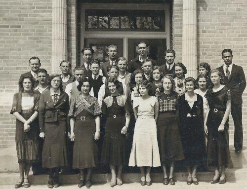 Two members of the Palisade High School Class of 1935 grew up at the Roller Dam