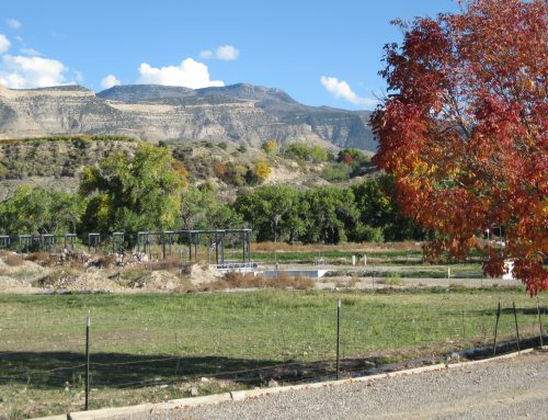Grand Mesa on a day in autumn