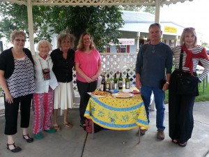 Sharing their words while enjoying wine back in September were Palisade Writers Donna Lively, Holly Reed, Mary Leonard, Vickie Holt-Knob, Ron Chappell, and Maggie Fellman. In January Holly became ill and passed on Jan. 16.