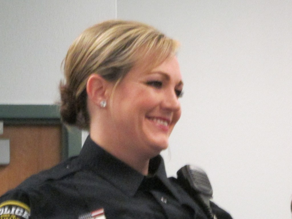 RESERVE POLICE OFFICER JAEDA CANNIZZARO, 2-23-16
