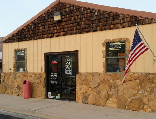 The De Beque Country Store offers groceries, homemade deli/bakery goods, and down-home lunches