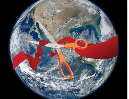 The World's Ribbon Cutting